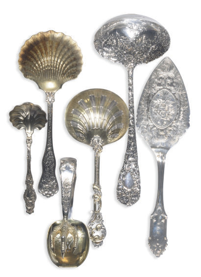 A GROUP OF AMERICAN SILVER SER