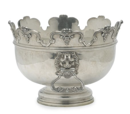 A VICTORIAN SILVER MONTEITH WI