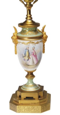 A GILT METAL-MOUNTED SÈVRES ST