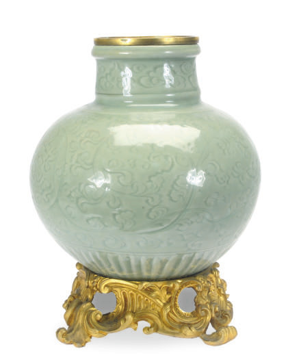 A GILT-METAL MOUNTED CHINESE P