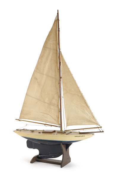 A PAINTED MODEL OF THE SLOOP '