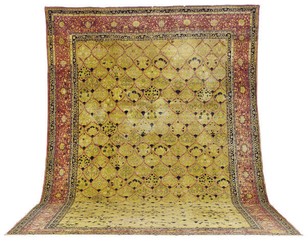 A LAHORE GALLERY CARPET,