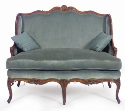 A LOUIS XV BEECHWOOD AND UPHOL