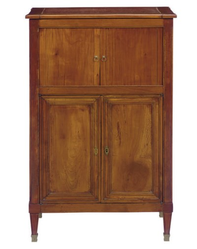A DIRECTOIRE FRUITWOOD DRESSIN