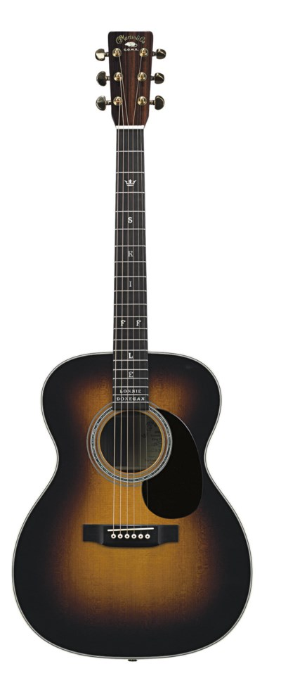 THE LONNIE DONEGAN, STYLE 000-