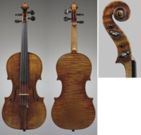 ASCRIBED TO ANTONIO AND OMOBONO STRADIVARI