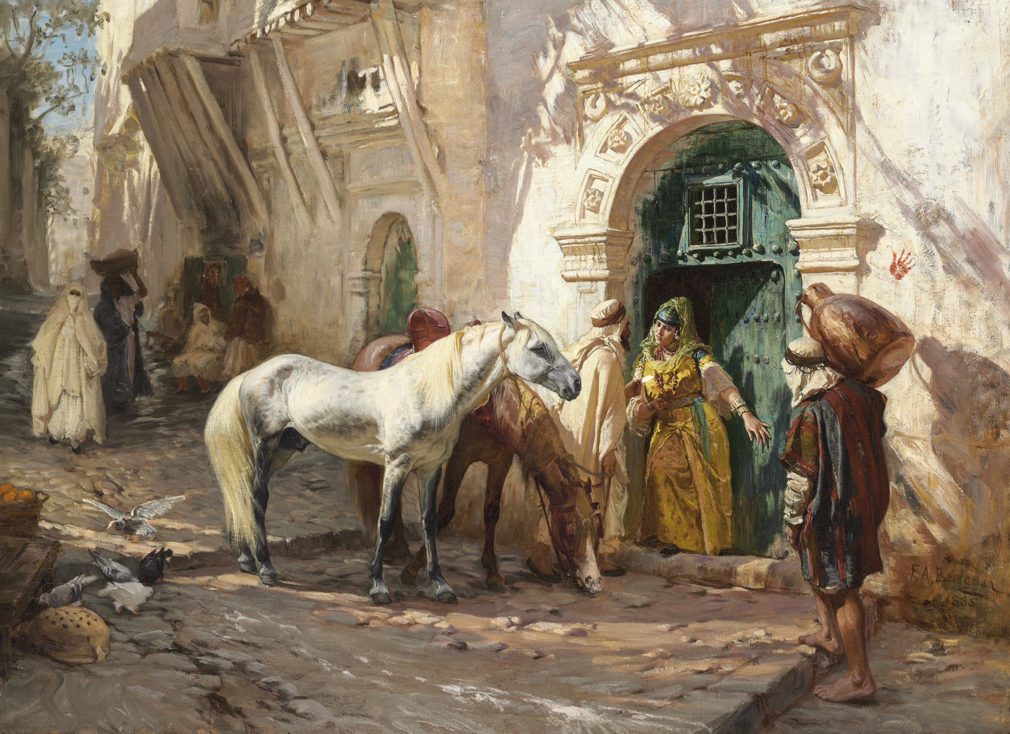 Scène prise au Maroc