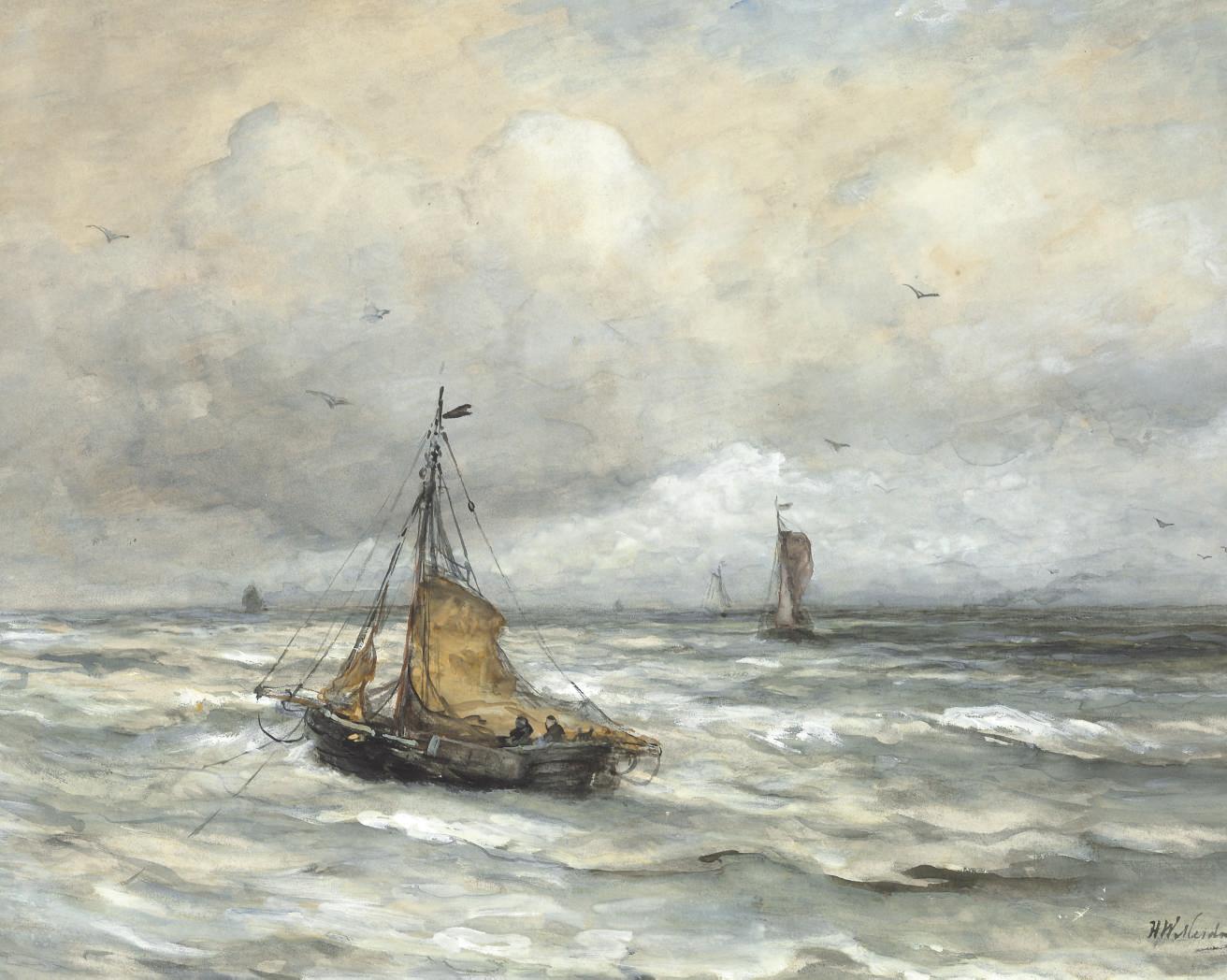 Hendrik Willem Mesdag (Dutch,