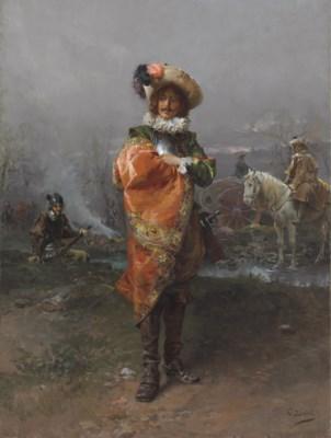 Cesare-Auguste Detti (Italian,