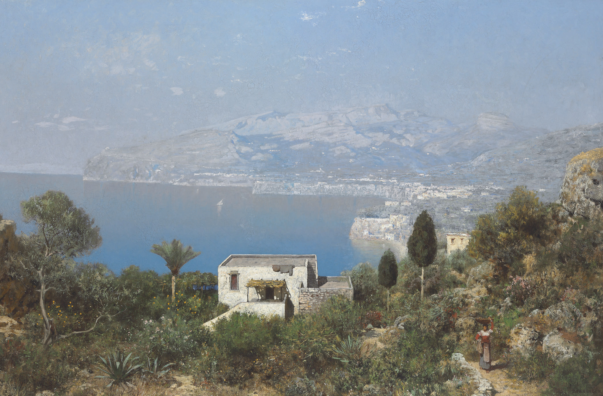 A View of the Bay of Sorrento