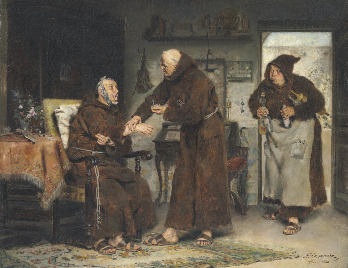 The Sick Monk
