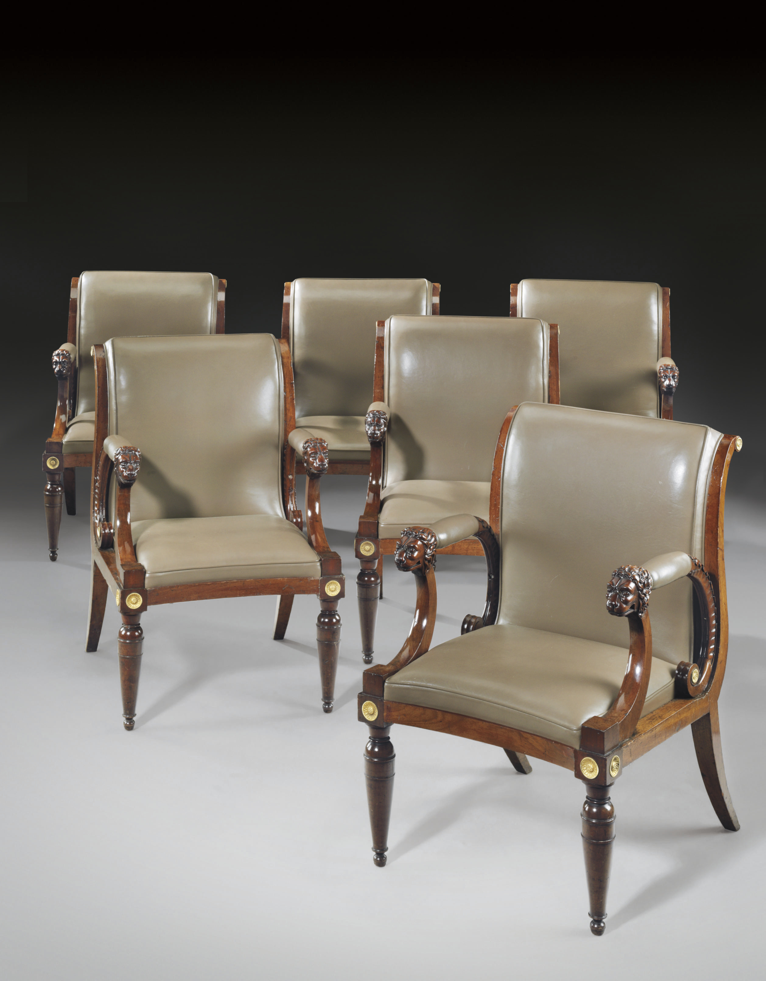 A SET OF SIX NORTH EUROPEAN OR