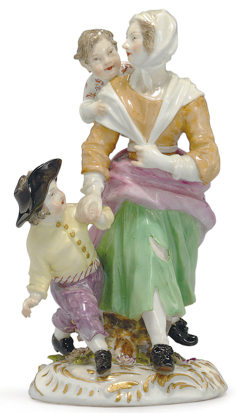 A MEISSEN CRYES OF LONDON FIGU