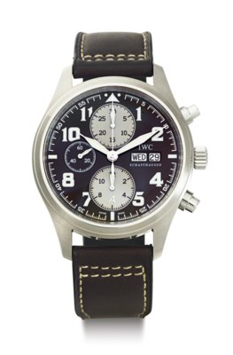 IWC. A LIMITED EDITION STAINLE