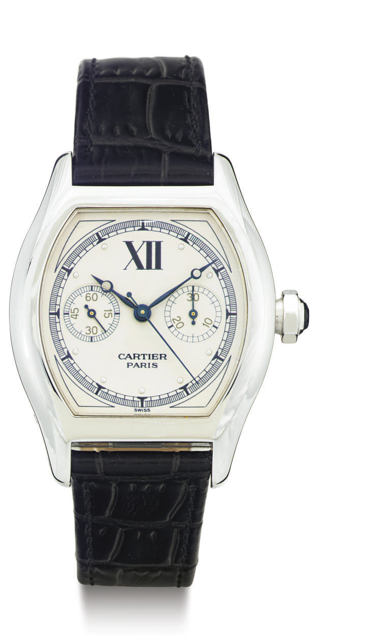 CARTIER. AN 18K WHITE GOLD SIN