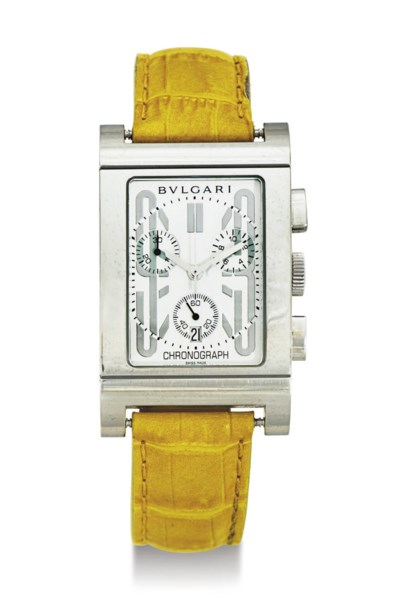 BULGARI.  A STAINLESS STEEL CH