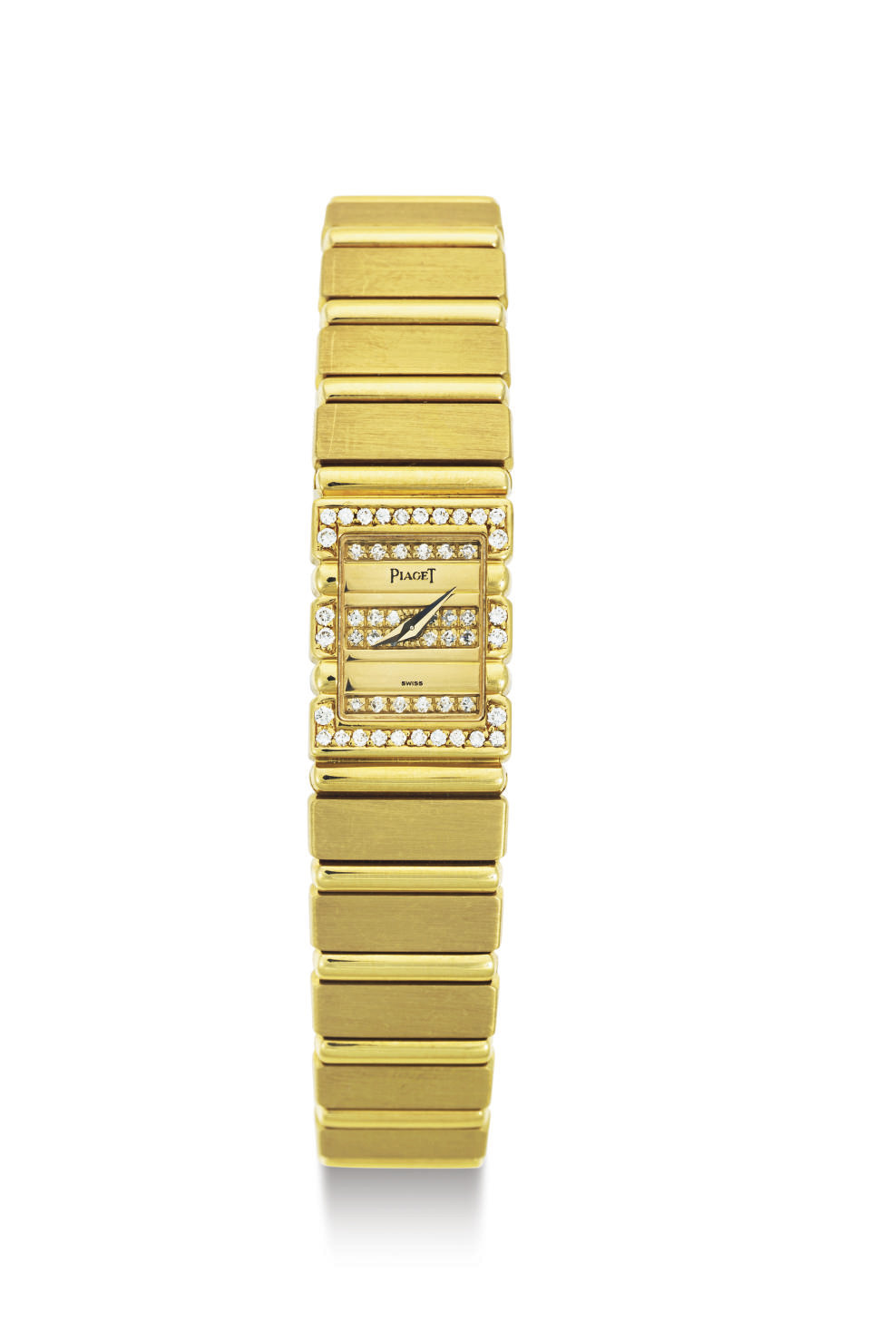 PIAGET. A LADY'S GOLD AND DIAM