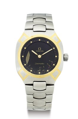 OMEGA. A STAINLESS STEEL WRIST