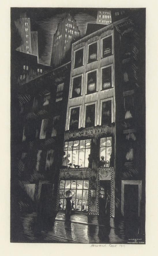 [HOWARD COOK (1901-1980) ET AL