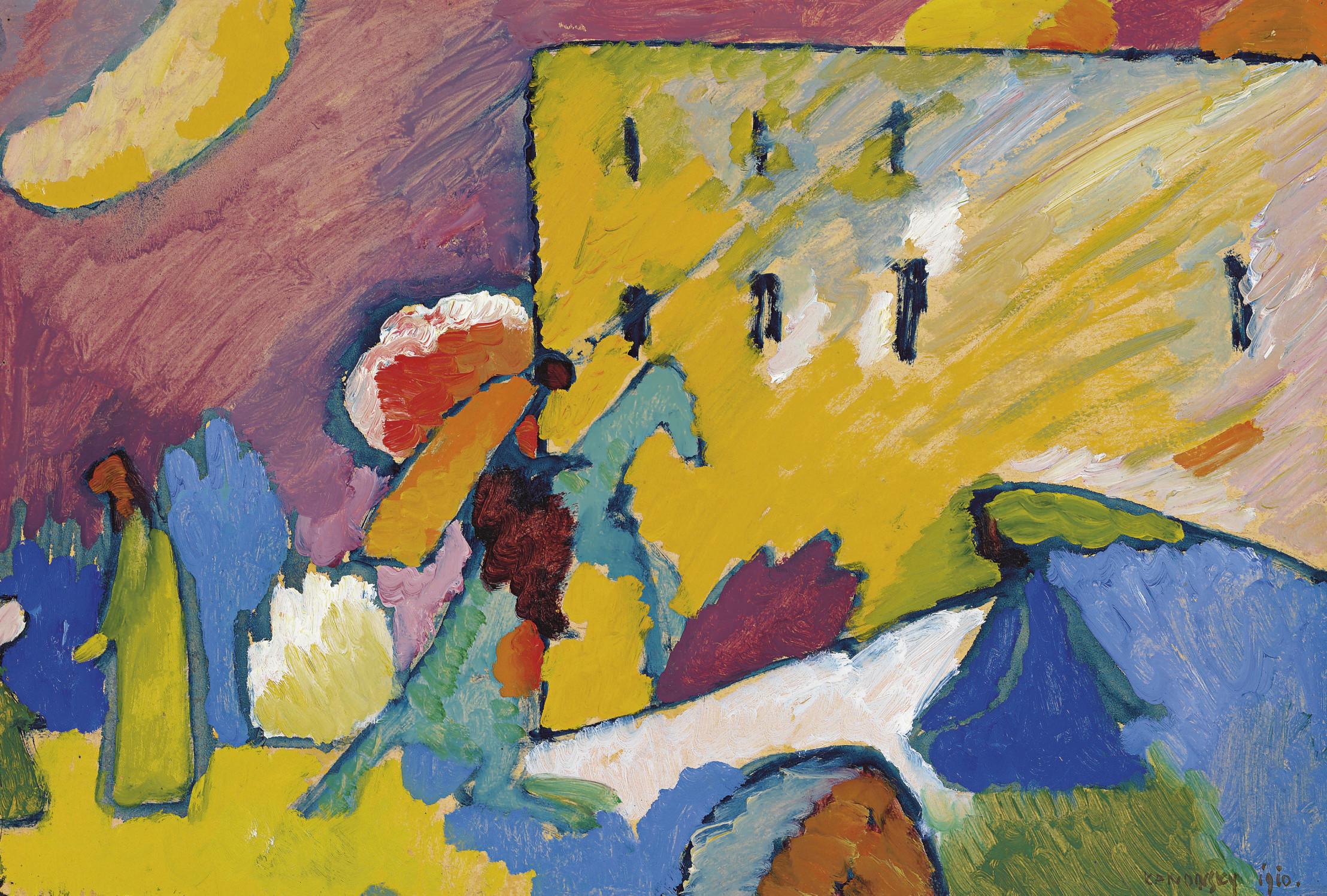 Wassily Kandinsky 1866 1944 Studie Zu Improvisation 3 20th