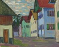 Gasse im Murnau