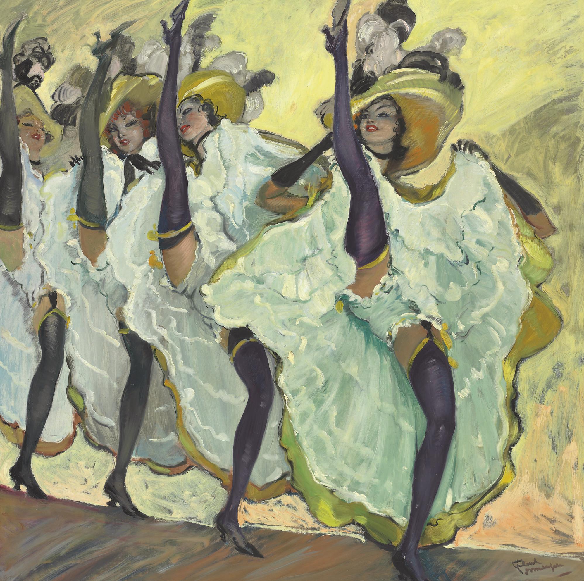Les danseuses de French Cancan