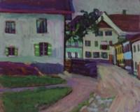 Dorfstrasse im Murnau