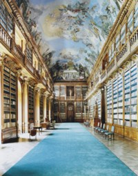 Strahovska Knihova Praha V
