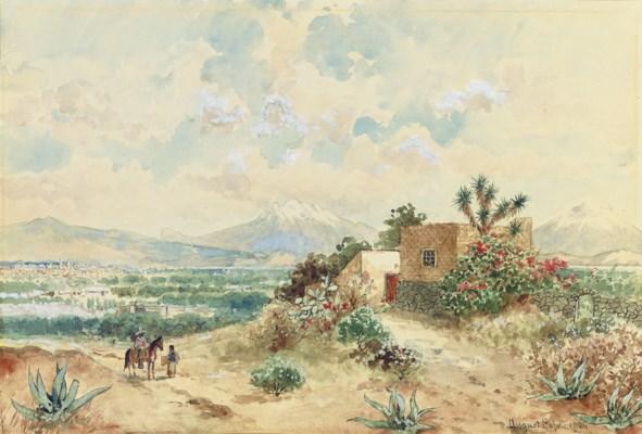 August Löhr (German 1843-1919)
