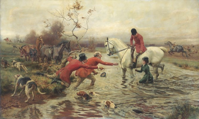 Alfred William Strutt (British