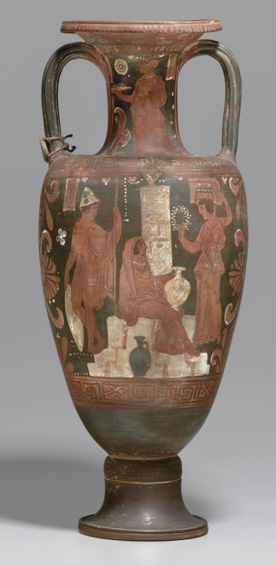A CAMPANIAN RED-FIGURED NECK-A