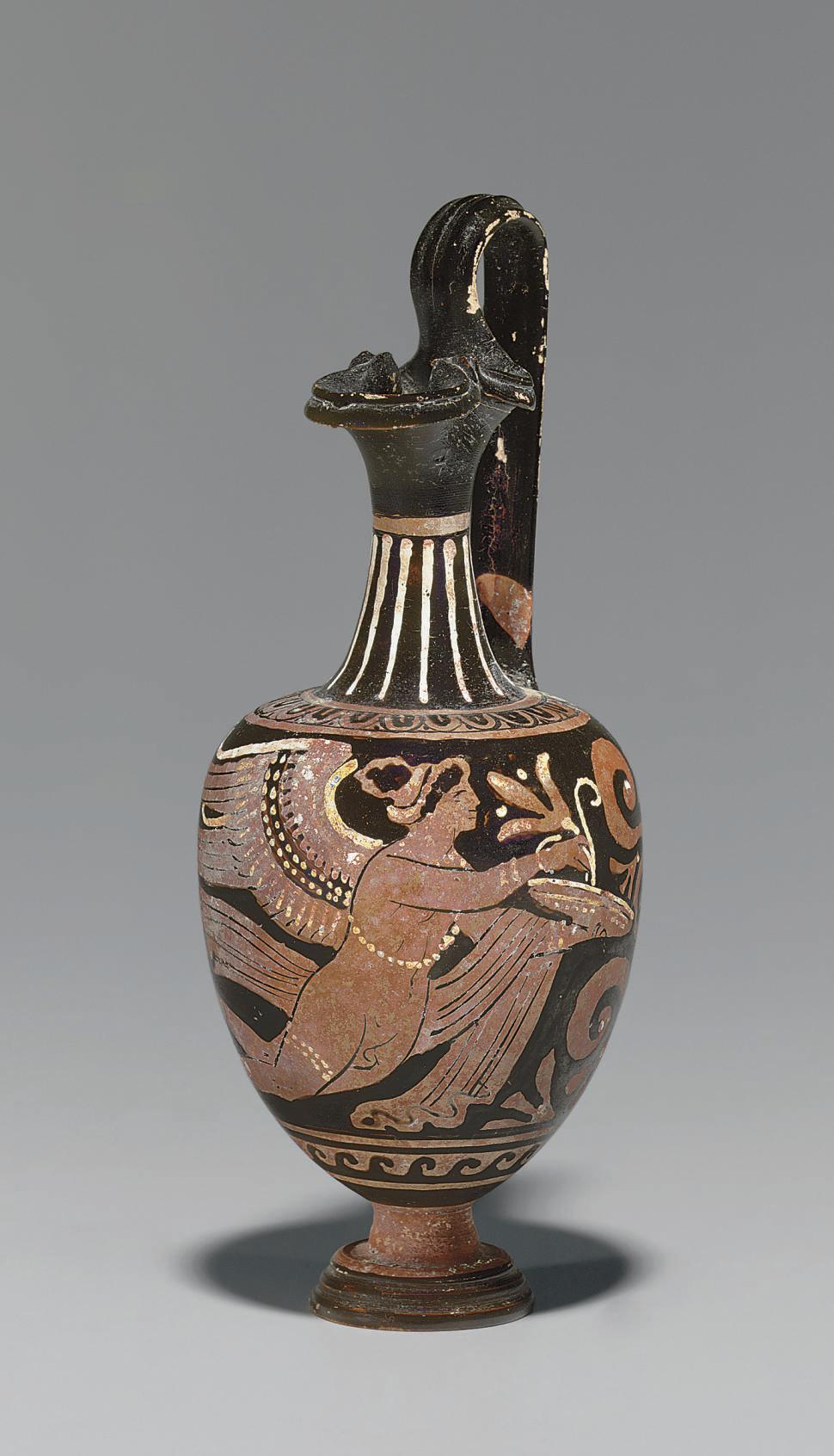 AN APULIAN RED-FIGURED OINOCHO
