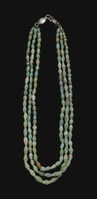 A WESTERN ASIATIC TURQUOISE BE
