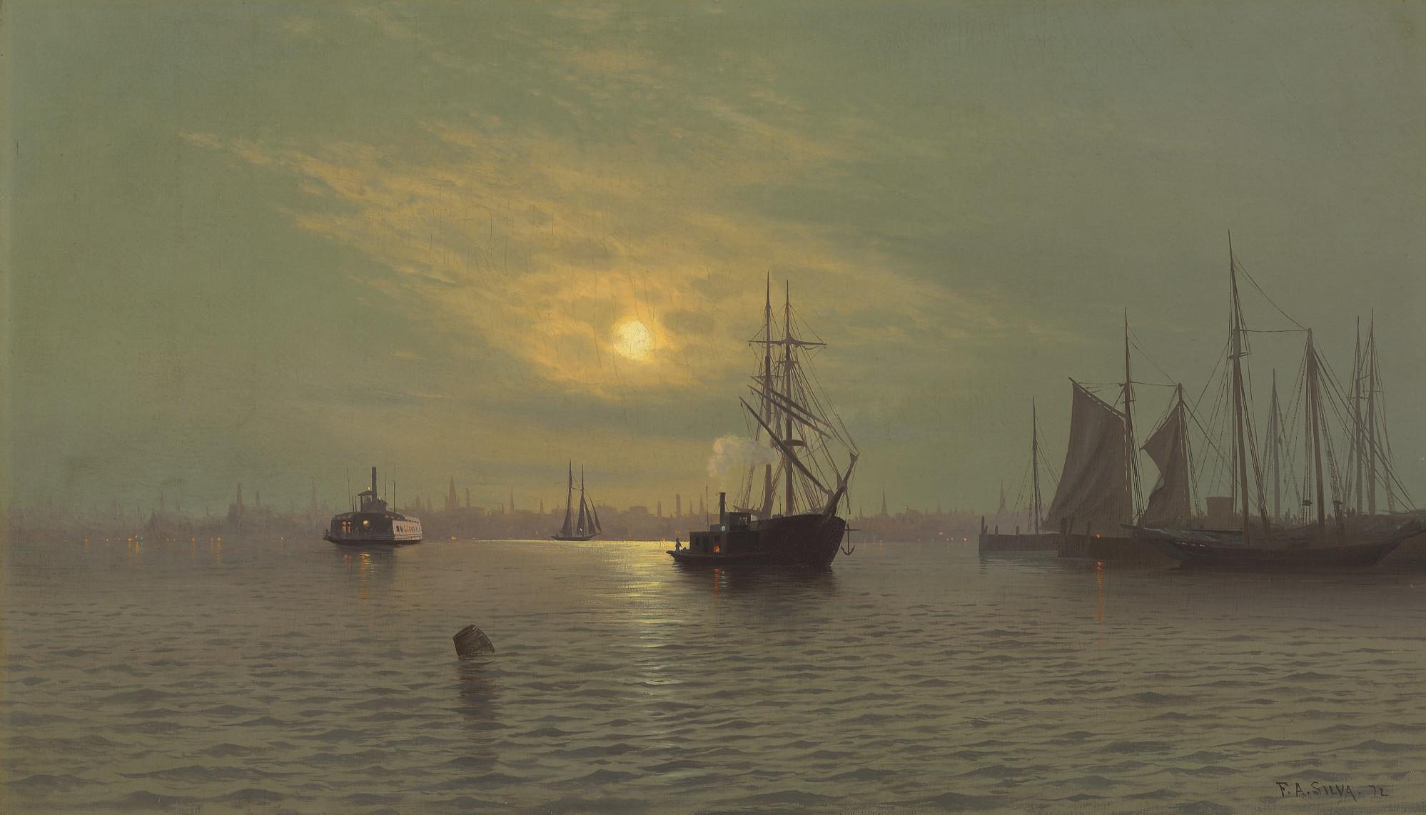 Hoboken at Midnight