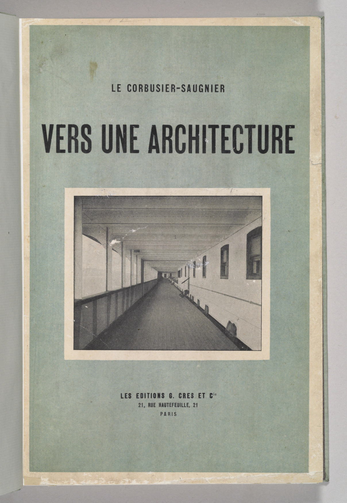 LE CORBUSIER (Pseudonym of Cha