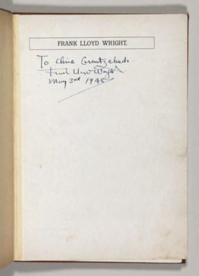 WRIGHT, Frank Lloyd. [Frank Ll