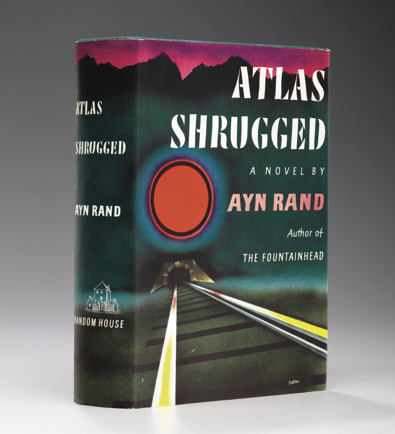 RAND, Ayn (1905-1982). Atlas S