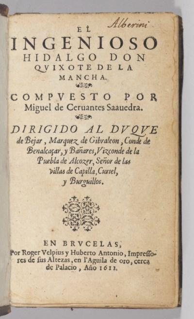 CERVANTES SAAVEDRA, Miguel de.
