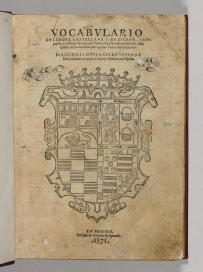 MOLINA, Alonso de (1496-1584).