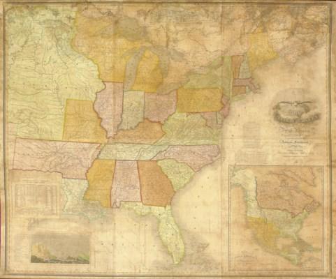 VANCE, David H. Map Of The Uni