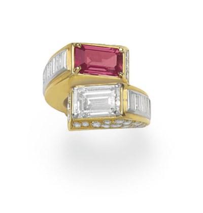 A DIAMOND AND RUBY