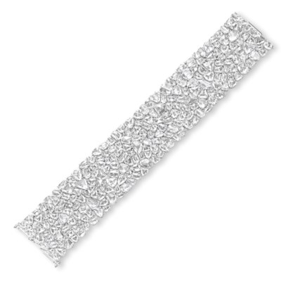 A DIAMOND BRACELET, BY FRED LE