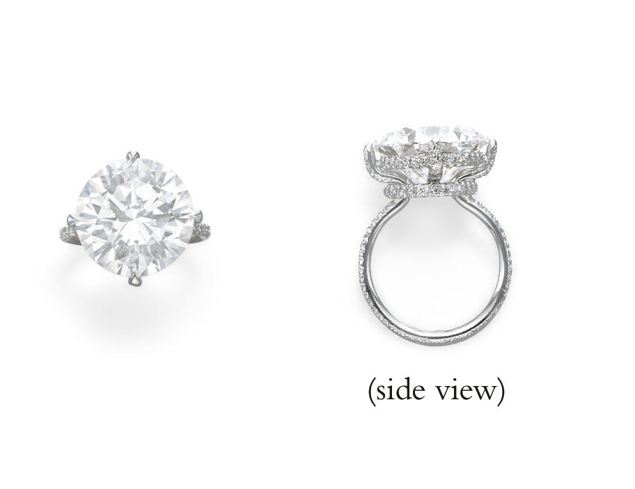 AN ELEGANT DIAMOND