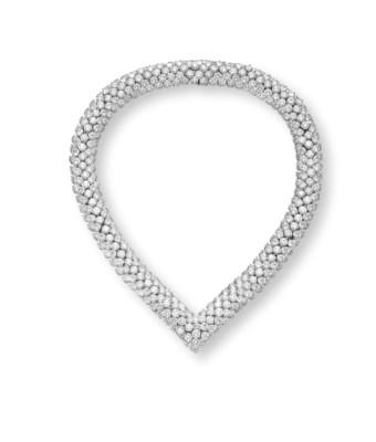A DIAMOND NECKLACE, BY HARRY W