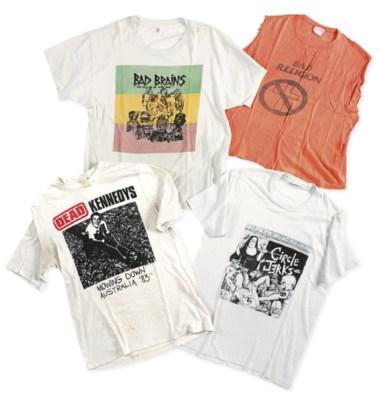 U.S. Hardcore T-Shirts