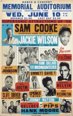 Sam Cooke and Jackie Wilson
