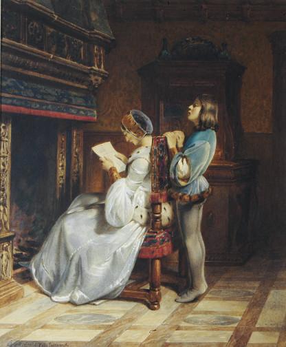 After Claudius Jacquand
