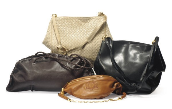 A GROUP OF FOUR BOTTEGA VENETA