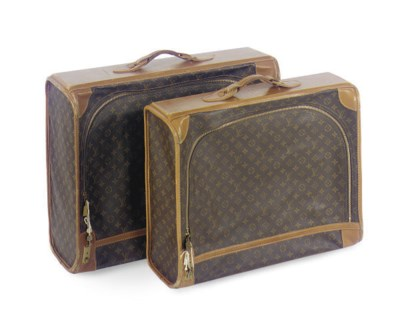 TWO LOUIS VUITTON SOFT LEATHER