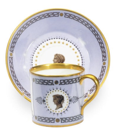 A FRENCH HARD PASTE PORCELAIN